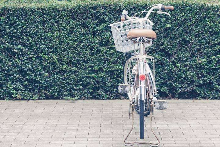 理学療法士の訪問に使用される自転車の画像