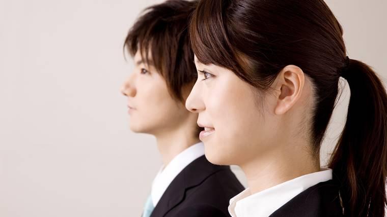 女性理学療法士の就職活動の画像